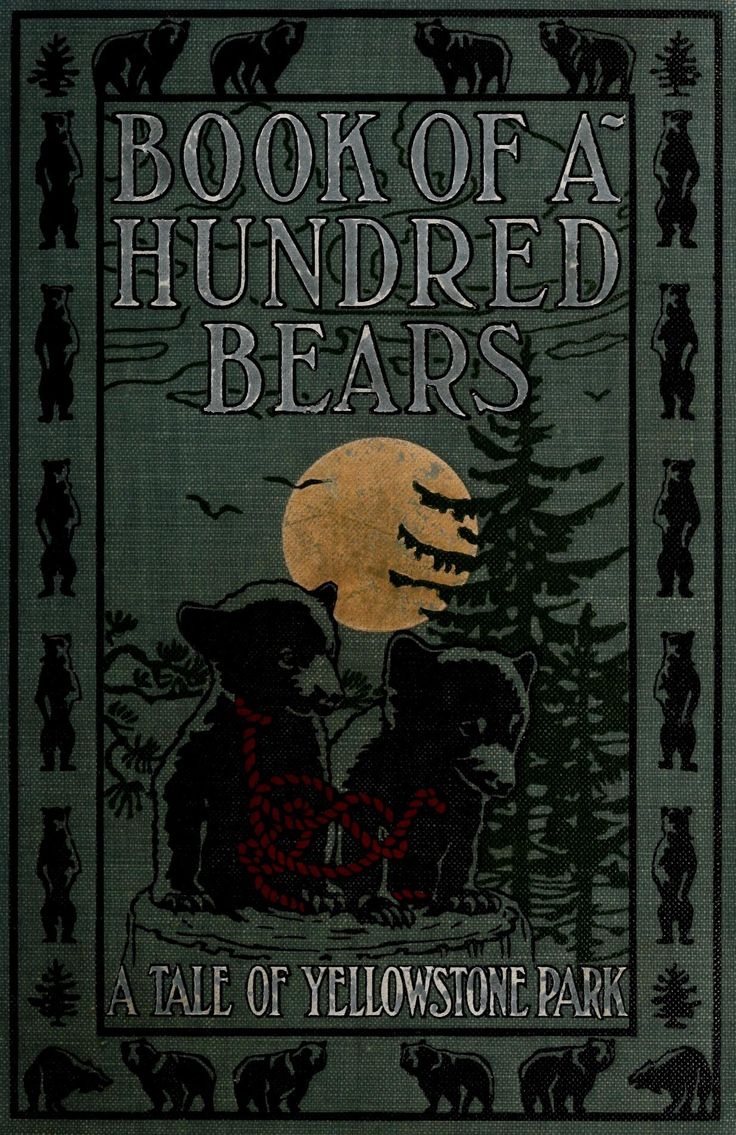 F. Dumont Smith, Book of a Hundred Bears (1909) Source: Internet Archive