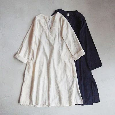 dosaAleppo tunic with handstiching - QUICO WEB SHOP