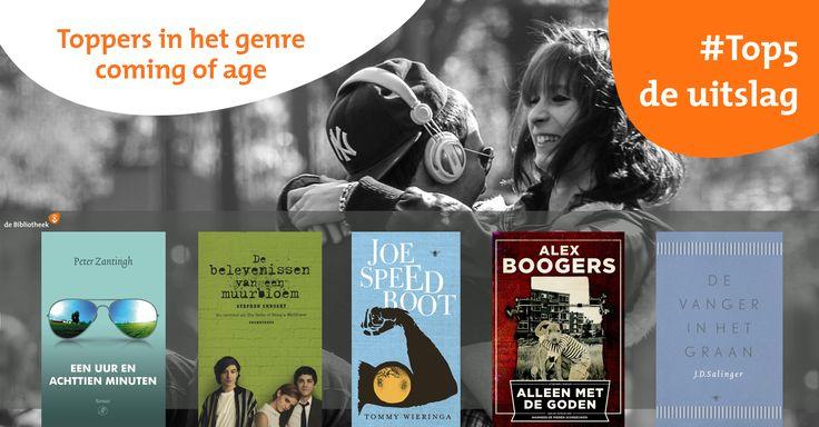 Toppers in het coming of age/genre volgens onze volgers.