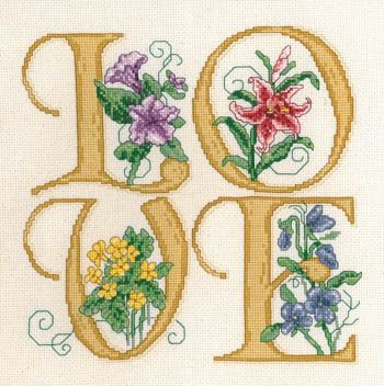 Love - Cross Stitch Pattern $6.29 for this pretty pattern. FYI.