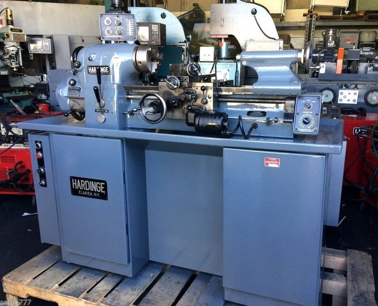 NICE HARDINGE HLV-H HIGH PRECISION TOOLROOM LATHE FULLY EQUIPPED WITH TOOLING #HARDINGE