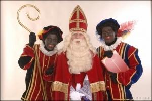 St. Nicholas and his zwarte pieten/Dec 5th