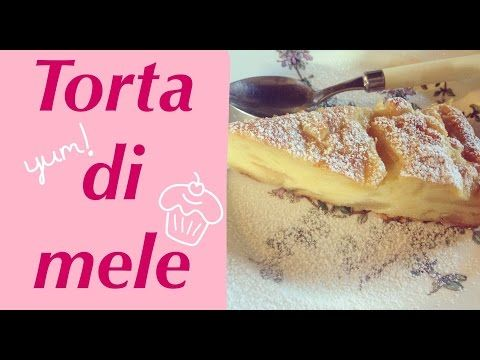 Torta di mele cremosa   cooking with Au #2 - YouTube