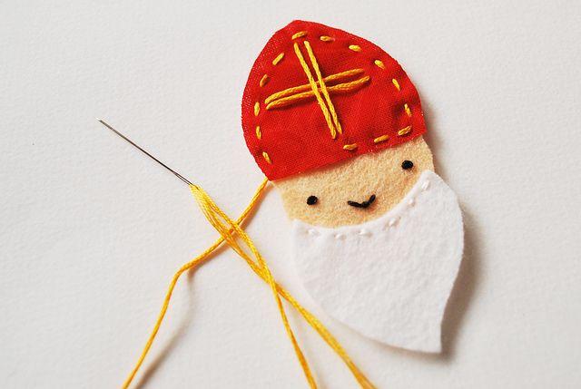 St. Nicholas felt ornament                                                                                                                                                                                 More