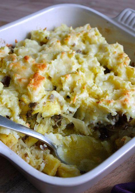 Zuurkool met gehakt, kerrie en ananas_2