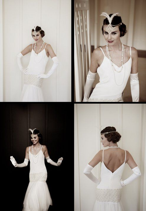 1920S Wedding Ideas | Style Ideas: 1920′s Inspired Holiday Party » 1920s-wedding-dress