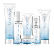Luminesce - the gorgeous skincare range reduces the appearance of fine lines and wrinkles and reveals your unique glow