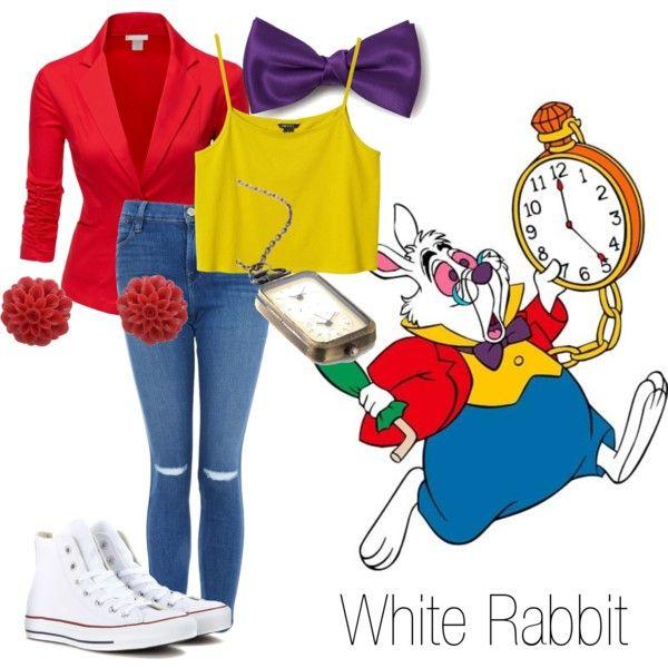 alice in wonderland white rabbit costume ideas - Google Search