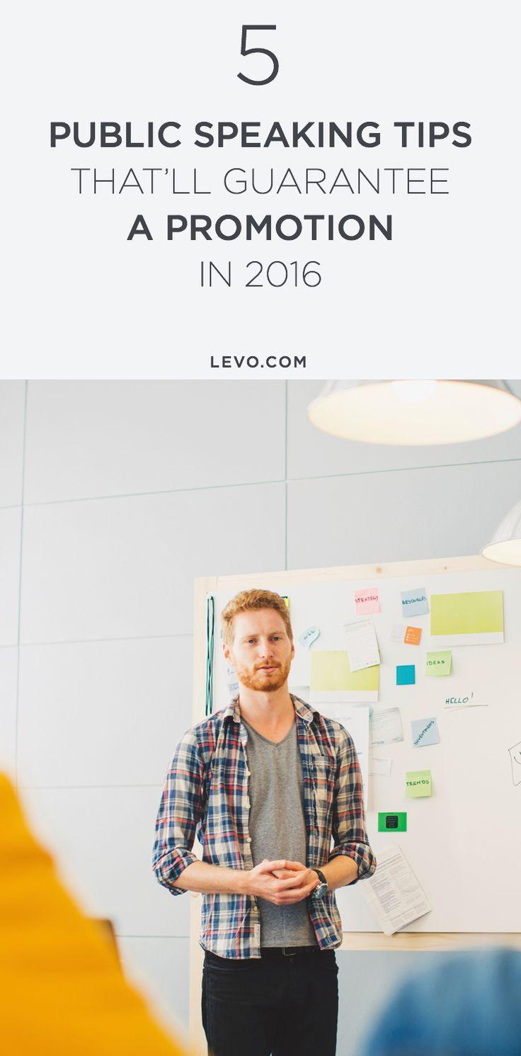 5 tips that help take the fear away from public speaking. @levoleague www.levo.com