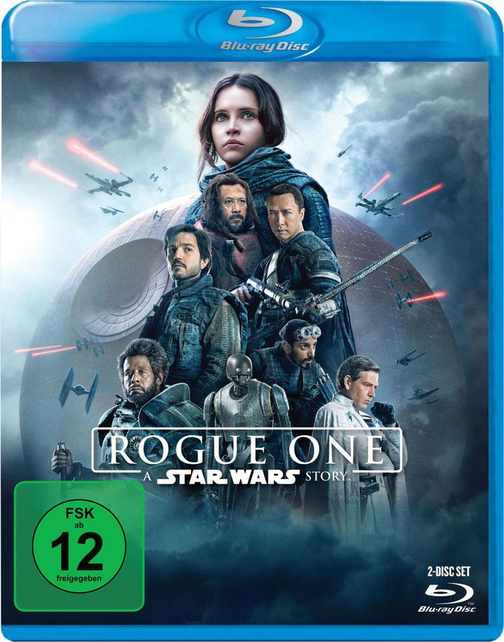 Rogue One A Star Wars Story - Lucasfilm - German Blu-ray Packshot - kulturmaterial