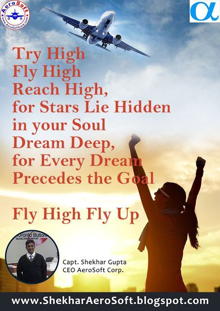 CEO AeroSoft Corp: Fly High Fly Up