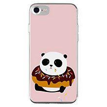 La Vie iPhone 6/6S/7 mykt deksel (donut panda)