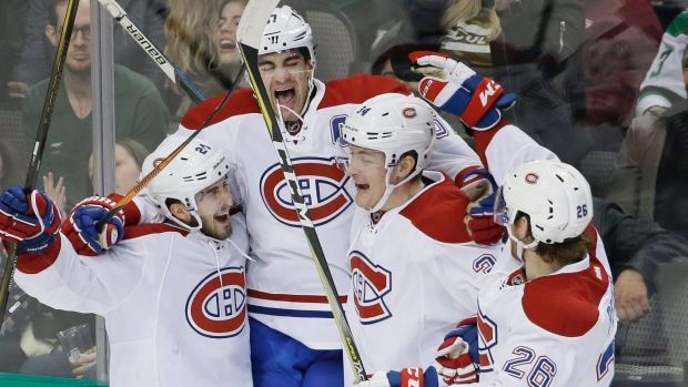 Max Pacioretty, Montreal Canadiens Celebrate