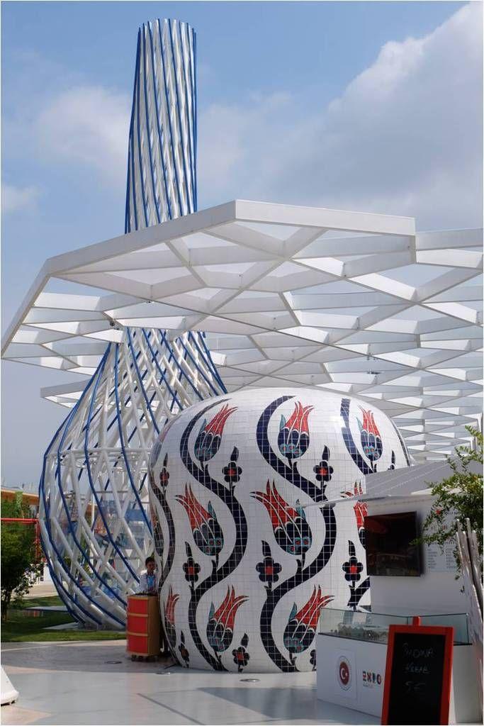 Pavillon de la Turquie, Expo Milano 2015