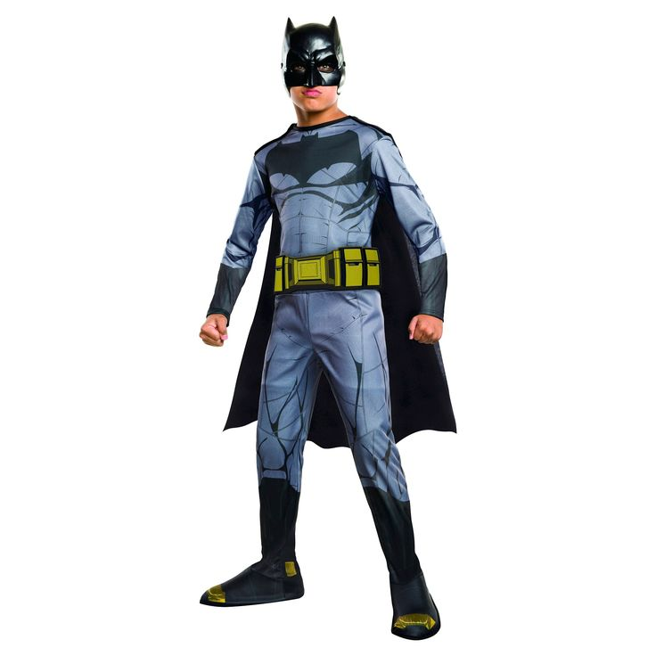 Halloween Batman Dawn of Justice Kids' Costume - Medium, Boy's, Multicolored