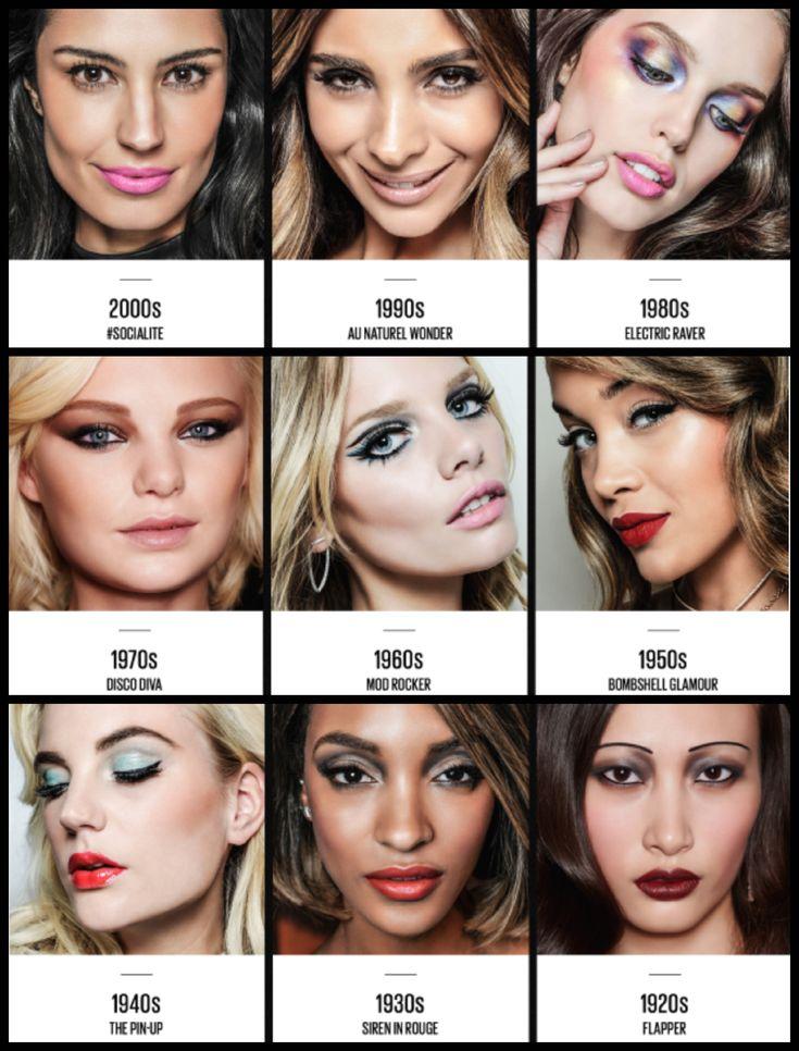 makeup through the decades - Google Search