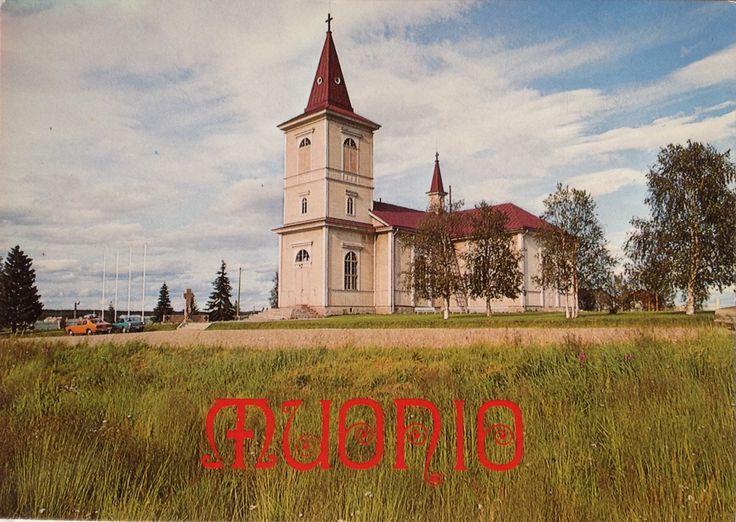 MUONIO Suomi Finland Kirkko