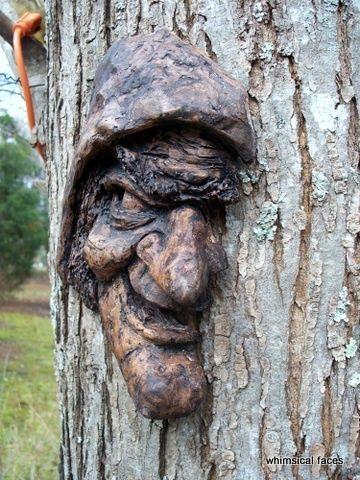 spooky treeface!