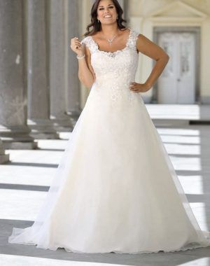 Hochzeitskleider Für Mollige #Brautkleid #Hochzei…