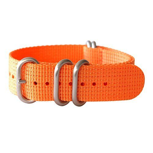 "22mm 5 Ring 12""(300mm) Military Army Diver Nylon Watch Strap Band #Orange - Stainless yeppoonus http://www.amazon.com/dp/B00RD3OFN0/ref=cm_sw_r_pi_dp_Fi0Yub048SY4F"