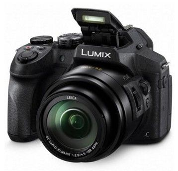 Panasonic DMC-FZ300 Digital Camera - Black. The Panasonic FZ300 camera also has 4K imaging performace for video and 4K Photo with a 12.1 megapixel sensor.  The camera also has a splashproof and dust proof body along with 5 axis Hybrid Optical Image Stabilization which assures a clean steady photo and video environment. http://www.specssite.com/digital-cameras/point-shoot-cameras/