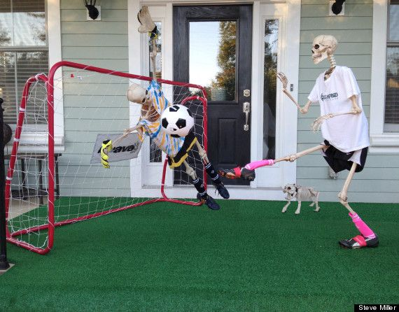 These Goofy Halloween Skeletons Will Make You Shriek In Delight