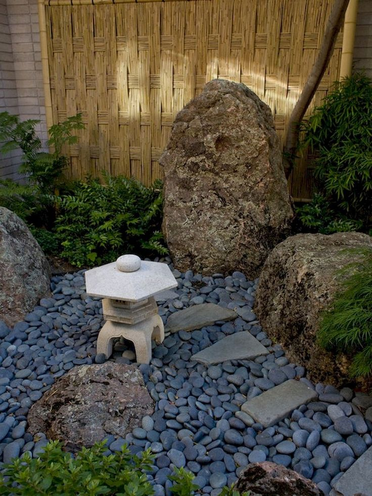 68+ Marvelous Rock Garden Ideas Backyard Front Yard ...