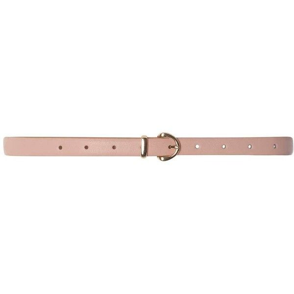 Dorothy Perkins Dusy Pink Plain Skinny Belt (£6.95) ❤ liked on Polyvore featuring accessories, belts, pink, skinny belt, pink skinny belt, polyurethane belt, dorothy perkins and thin belts