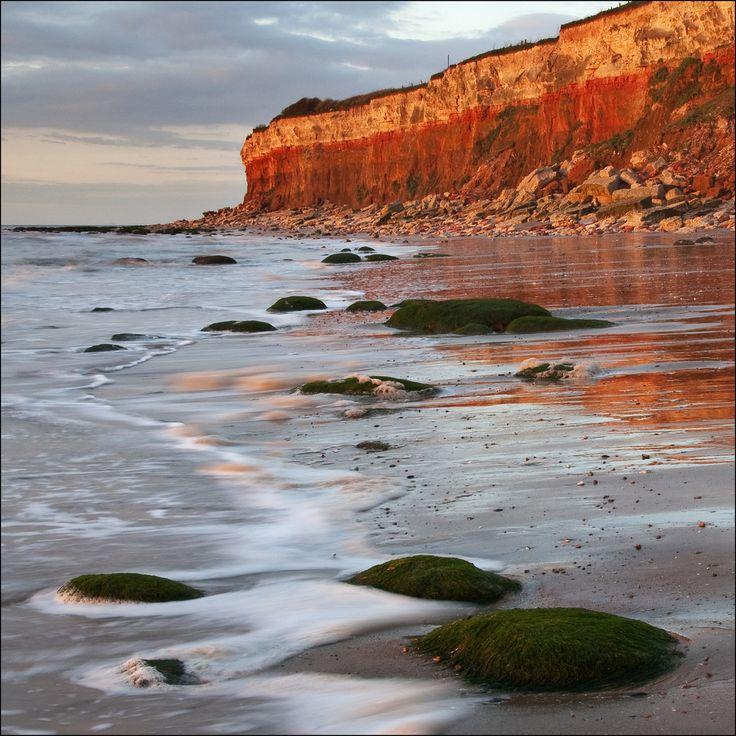 Hunstanton Cliffs at sunset, Norfolk | by dave in norfolk