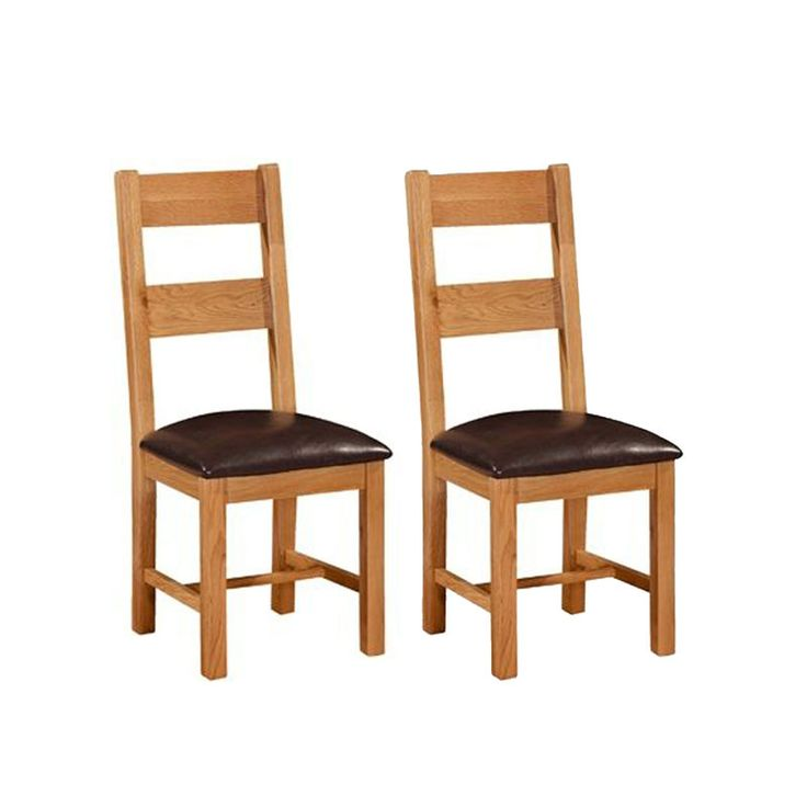 Somerset Ladder Back Dining Chair (Pair)