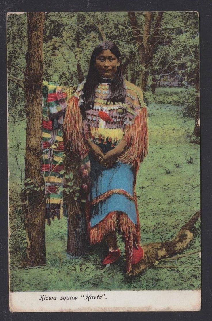 USA 1907 KIOWA Squaw Havta Native American