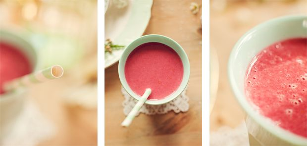 #smoothie #yummy #healty #berries #nam #pink http://stineshjem.blogspot.no/2013/03/den-perfekte-smoothie-oppskriften.html