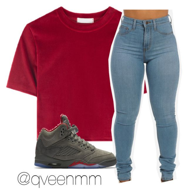 """""""Untitled #506"""" by qveenmm ❤ liked on Polyvore featuring NIKE"""