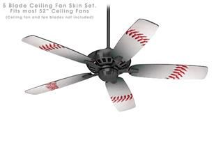 Ceiling Fan Self Adhesive Skin Kit Baseball