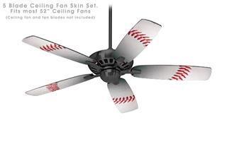 Ceiling Fan Self Adhesive Skin Kit Baseball