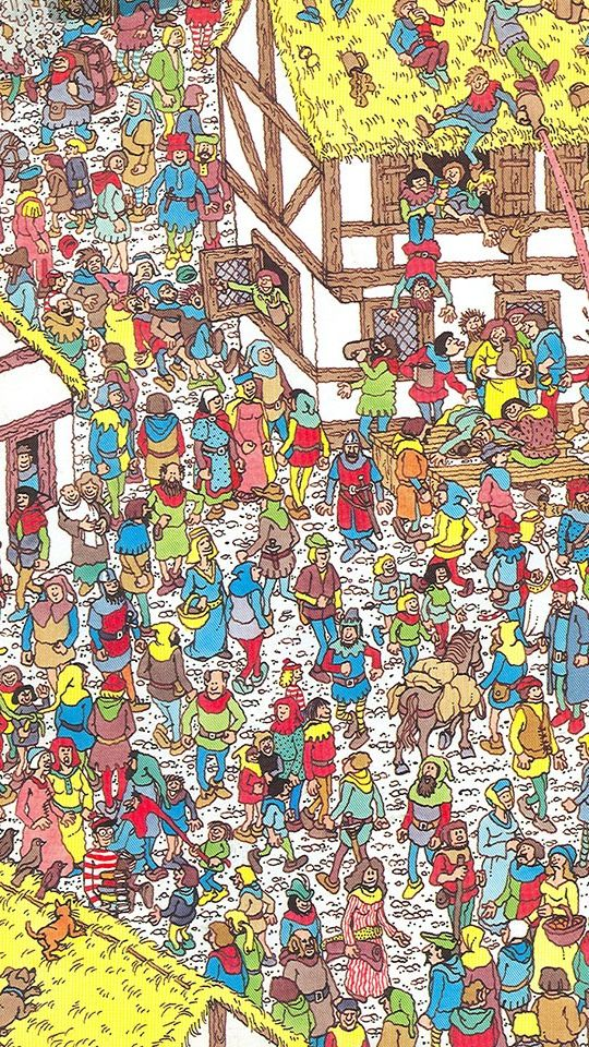 It is an image of Old Fashioned Where's Waldo Pictures Printable