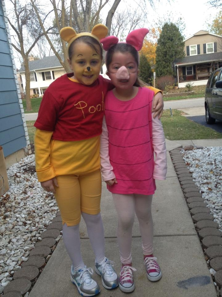 Winnie The Pooh and Piglet Ready To Go Trick-or-Treating! #Halloween #CostumeContest #TuranoBaking
