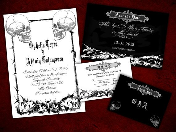 the 25+ best halloween wedding invitations ideas on pinterest, Wedding invitations