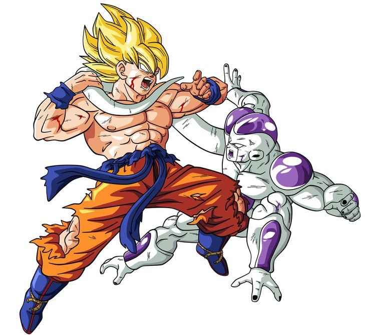 Goku Vs Freezer By Bardocksonic Personajes De Dragon Ball Personajes De Goku Figuras De Goku