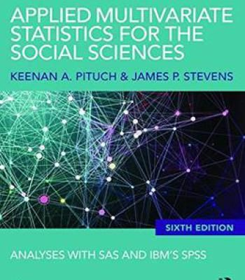 Best 25 sas statistics ideas on pinterest causes of human applied multivariate statistics for the social sciences analyses with sas and ibms spss sixth edition fandeluxe Image collections