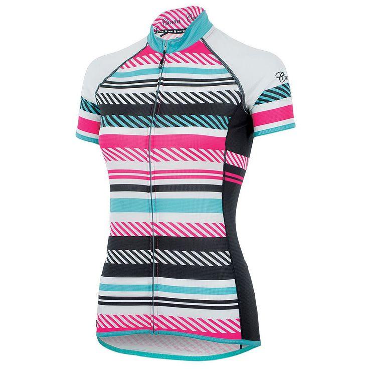 Women's Canari Copula Cycling Jersey, Size: Medium, Pink