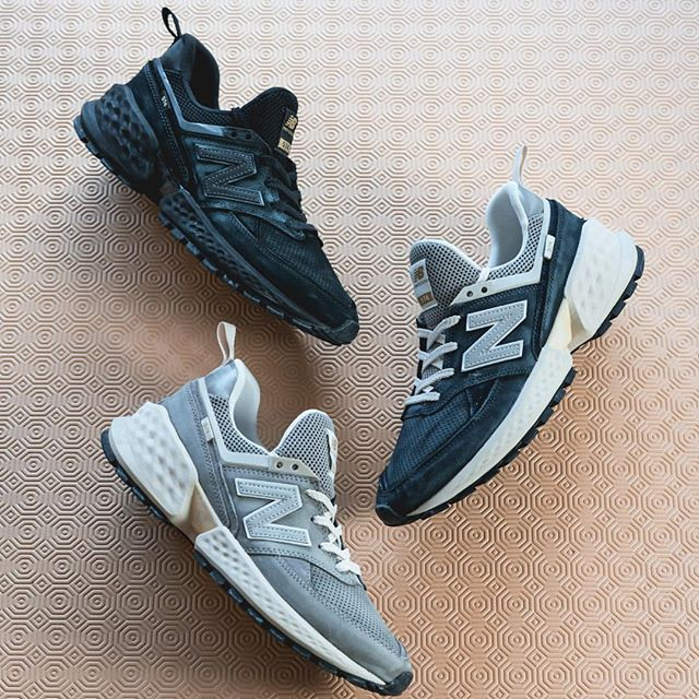 Has anyone grabbed any of the pairs from the @newbalance 574