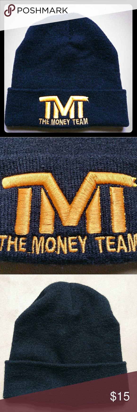 The Money Team Beanie Pre-owned Floyd Mayweather TMT beanie in great condition. No holes or snags. Comfortable, warm, and stylish. TMT Accessories Hats