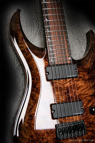 RAN Guitars Crusher... beautiful grain and like the fretboard inlays