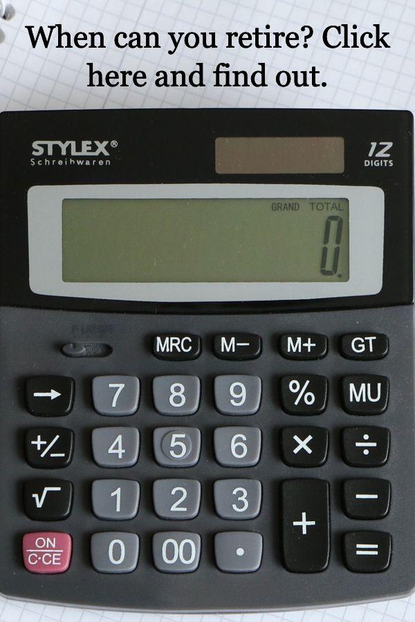 When Can You Retire Retirement Calculator Investing For Retirement Calculator