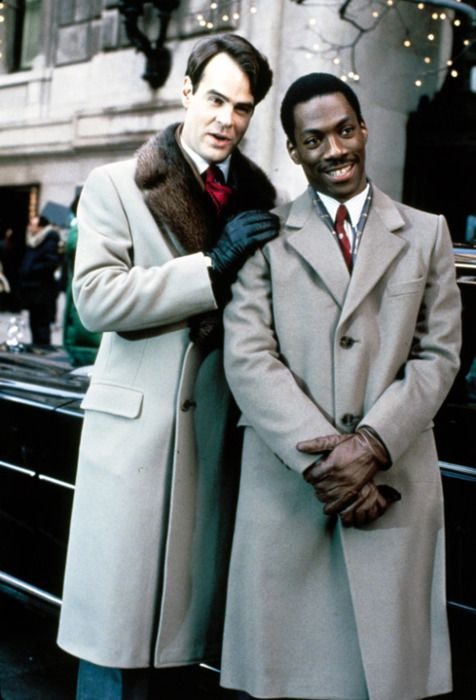 """Looking good, Billy Ray!""  ""Feeling good, Louis!""  Dan Aykroyd and Eddie Murphy in ""Trading Places"""