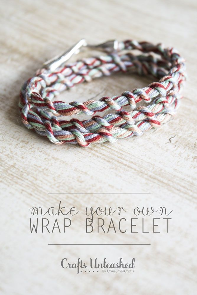 Make your own trendy and fashionable wrapped embroidery floss bracelets with the help of the Loopdedoo. I'll show you how - let's get started!