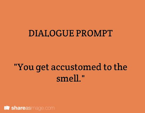 how to start off a dialogue story