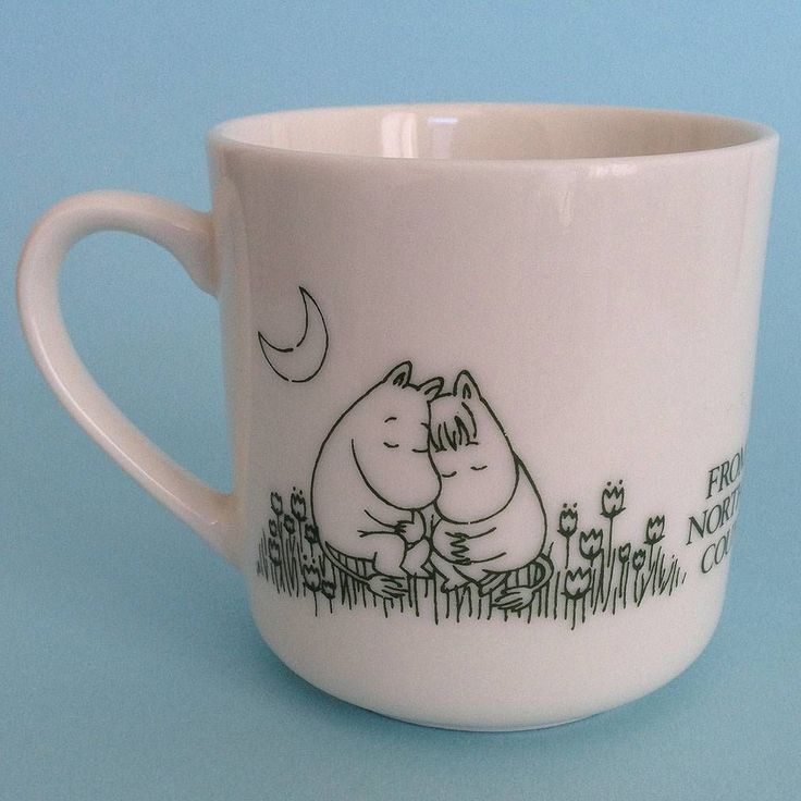 Moomin Valley Mug - Vintage 1990 From the Northern Country - Japan