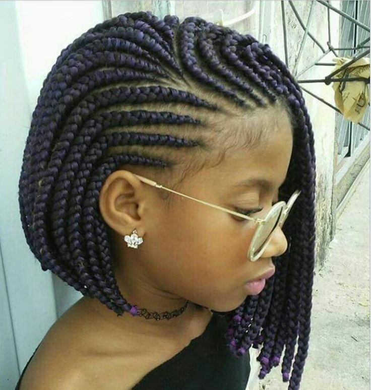 Platted Large Box Braids Black Girl Braided Hairstyles